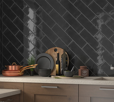 Urbano Mosaic Tile Backsplash