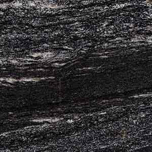 Black Space Granite Countertop