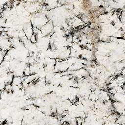 White Glimmer Granite Countertops