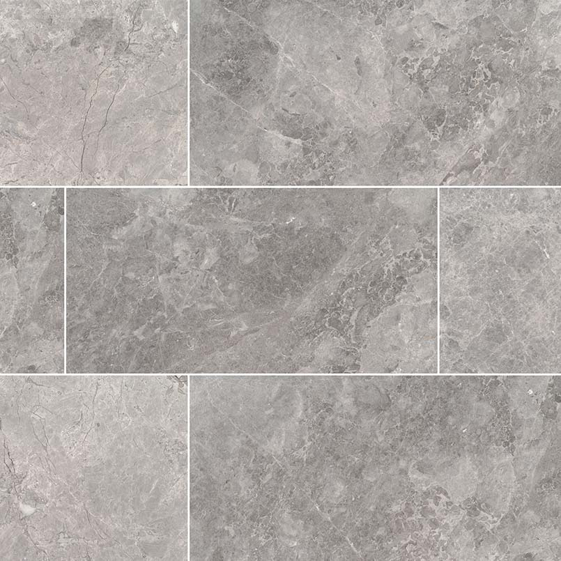 Tundra Gray Marble Natural Stone Collection Msi