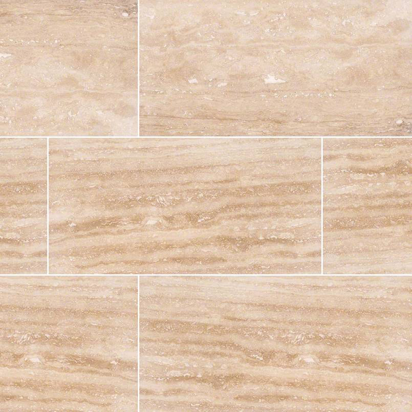 Walnut Vein Cut Travertine Tile