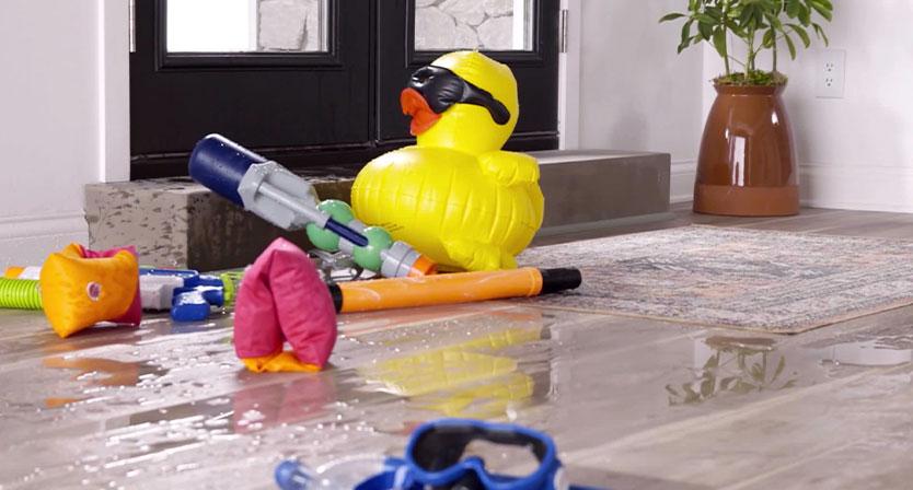 100% waterproof stain resistant