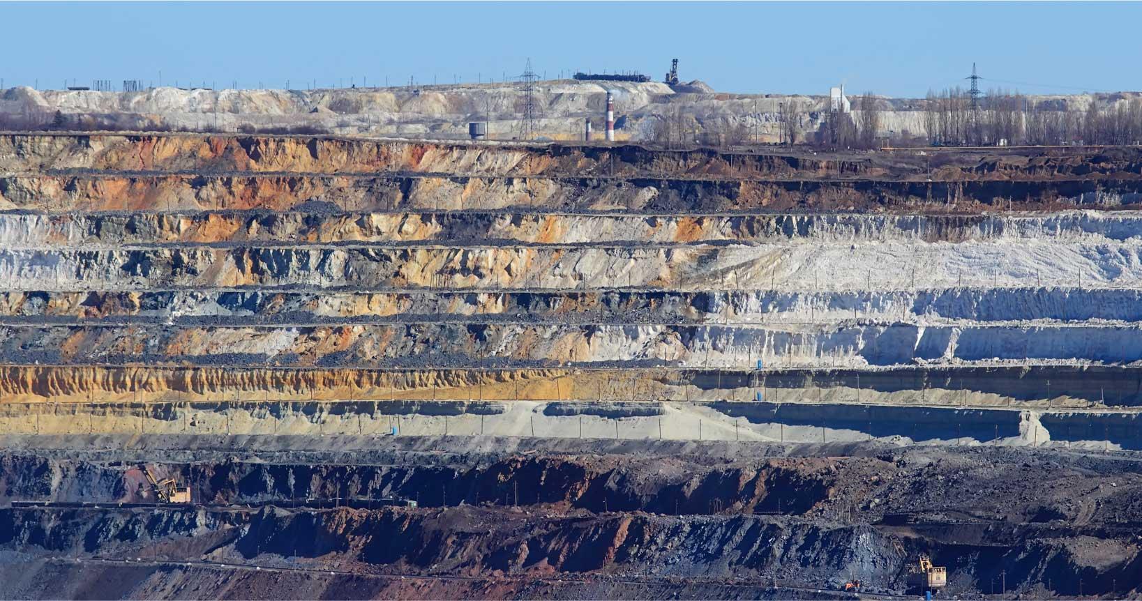 Slate Tile Flat Deposit Quarry