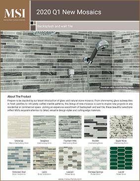 2020 Q1 New Mosaics