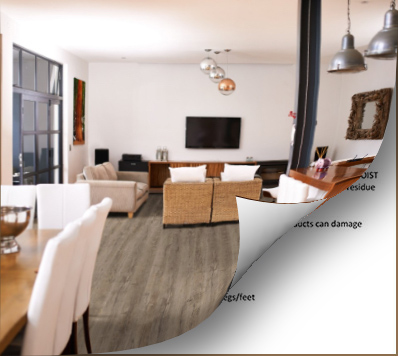 Vinyl Flooring CARE AND MAINTENANCE
