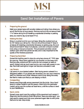 Hardscape Installation Manual