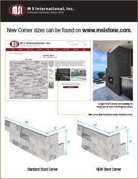 New Stacked Stone Corner Size