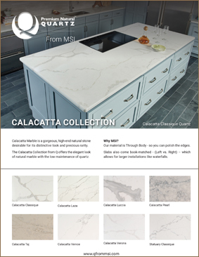 Quartz Calacatta Collection