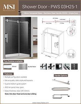 MSI Surface Shower Doors