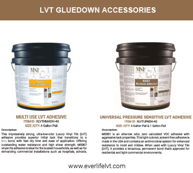 LVT ADHESIVES
