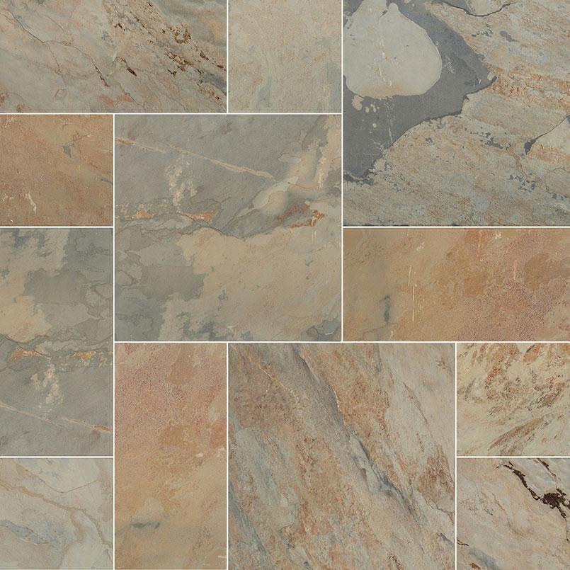 Autumn Slate Outdoor Tile