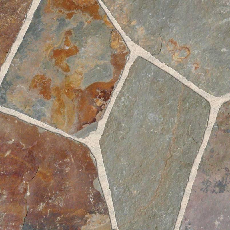 Flagstone California Gold Slate Hardscape