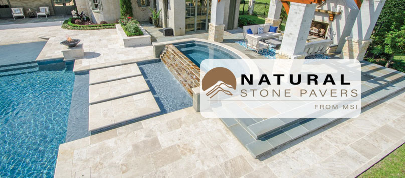 Natural Stone Pavers Category Page