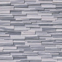 Alaska Gray 3D Honed RockMount Stacked Stone Panels
