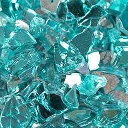 PIEDRA Aqua Blue Fireglass0.25