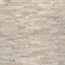 Arctic Golden Mini Stacked Stone Panels