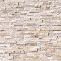Arctic Golden Panel RockMount Stacked Stone Panels