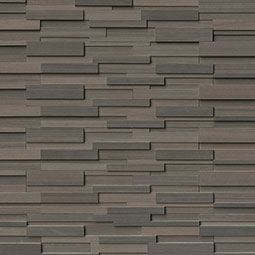 Brown Wave RockMount Stacked Stone Panels