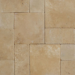 Durango Cream 10 kits Tumbled 3cm Pavers