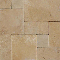 Durango Cream Travertine Pavers