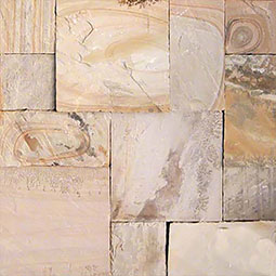 Fossil Rustic Hand Cut Sandstone Pavers