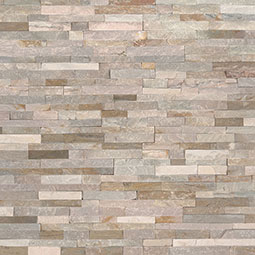 Golden Honey Mini Stacked Stone Panels