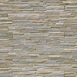 Golden Honey Pencil RockMount Stacked Stone Panels