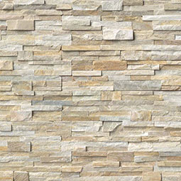Golden Honey RockMount Stacked Stone Panels