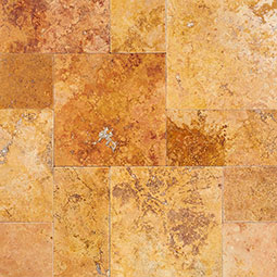 /images/hardscaping/thumbnails/golden leaf travertine pavers wet image 1