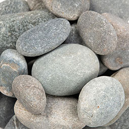 Grey Island Beach Pebbles