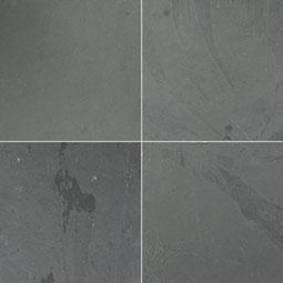 Montauk Black Paver 8x8x1