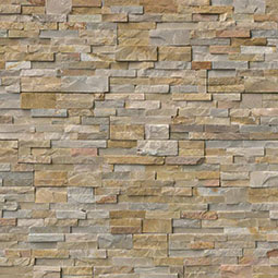 Nevada Gold RockMount Stacked Stone Panels