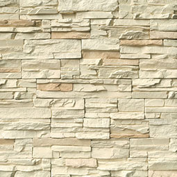 Peninsula Cream Mfd Stacked Stones Flats 6sqft/box