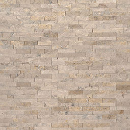 Roman Beige Mini Stacked Stone Panels