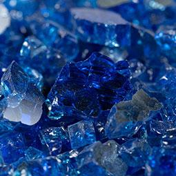 PIEDRA SapphireBlueFireglass0.5