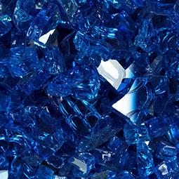 PIEDRA SapphireBlueFireglass0.25