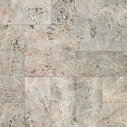 Silver Leaf Marble Pavers