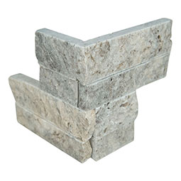 Silver Travertine Mini Panel 4.5x9