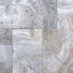 Silver Travertine Travertine Pavers