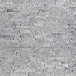 Sky Gray Mini Stacked Stone Panels