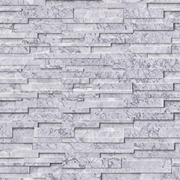Statuarietto Capri 3D Honed RockMount Stacked Stone Panels