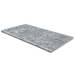 TERRAZO GRIS 13X24X2CM POOL COPING