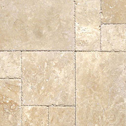 Tus. Beige Pattern Tumbled - 16 sqft