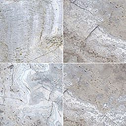 Silver Travertine 24x24x2