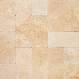 Tus. Ivory 10 kits Tumbled 3cm Pavers