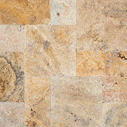 tuscany scabas travertine pavers Dry