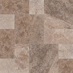 Tuscany Walnut Travertine Pavers