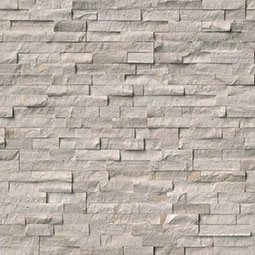 White Oak Splitface RockMount Stacked Stone Panels
