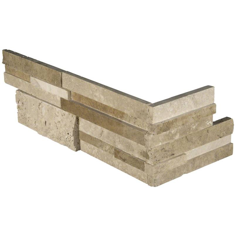 Casa Blend 3D Multi Finish RockMount Stacked Stone Panels