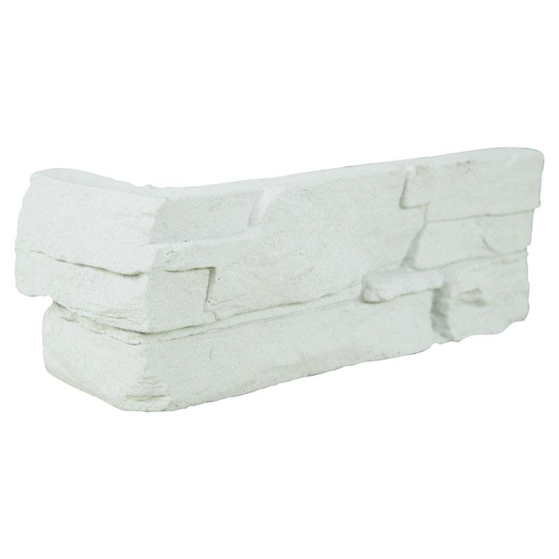 Copen Snow Mfd Stacked Stones Corners 4sqft/box